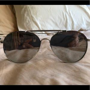 Accessories - Silver Reflective Sunglasses